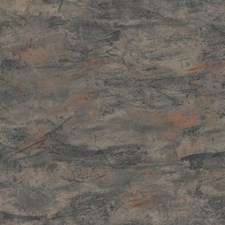 Charcoal/Black/Orange Bohemian Wallcovering by York