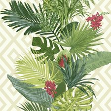 ON1627 Tropical Oasis Stripe by York