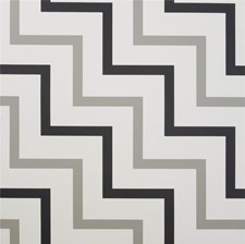 Black/Grey Geometric Wallcovering by Lee Jofa Wallpaper