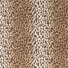 Brown Animal Wallcovering by Lee Jofa Wallpaper