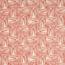 Red Botanical Wallcovering by Lee Jofa Wallpaper
