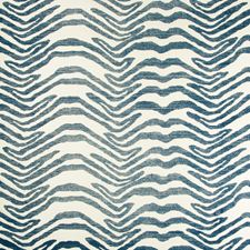 Indigo Animal Wallcovering by Lee Jofa Wallpaper