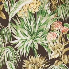 Espresso Botanical Wallcovering by Lee Jofa Wallpaper