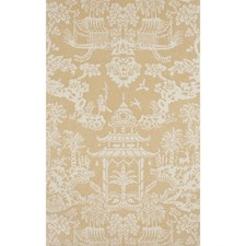 Tan Asian Wallcovering by Brunschwig & Fils