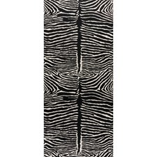 Black Animal Wallcovering by Brunschwig & Fils