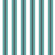 Aqua Stripes Wallcovering by Brunschwig & Fils
