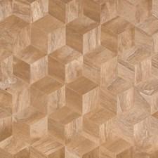 Chestnut Modern Wallcovering by Brunschwig & Fils
