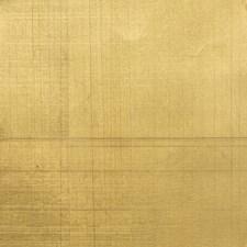 Golden Metallic Wallcovering by Brunschwig & Fils