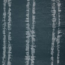 Navy Texture Wallcovering by Brunschwig & Fils