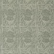 French Grey Botanical Wallcovering by Lee Jofa Wallpaper