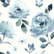 PSW1074RL Watercolor Blooms by York