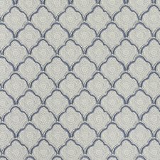 Indigo Small Scales Wallcovering by Baker Lifestyle Wallpaper