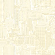 Silver/Cream Architectural Wallcovering by York