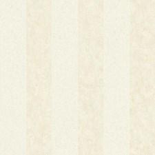 Cream/Pale Aqua/Parchment Tan Stripe Wallcovering by York