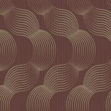 Reds Geometrics Wallcovering by York