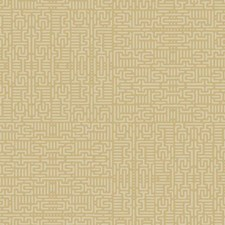 Gold/Tan Geometrics Wallcovering by York