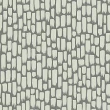 Metallic Gray/Gray Modern Wallcovering by York