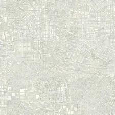 Off White/Metallic Gray Bricks Wallcovering by York