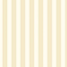 Beige/White Stripes Wallcovering by York