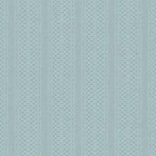 Aquamarine/Silver Geometrics Wallcovering by York