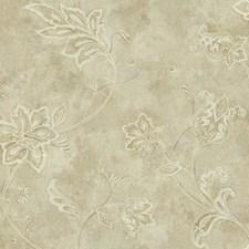 Beige/Cream/Tan Bohemian Wallcovering by York