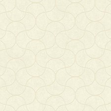 Pearl/White/Palest Pink Geometrics Wallcovering by York