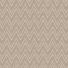 Cream/Silver/Beige Chevron Wallcovering by York