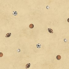 Neutral Kids Wallpaper Wallcovering by Brewster