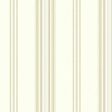 Pearlescent Antique Satin/Tan/Taupe Stripes Wallcovering by York