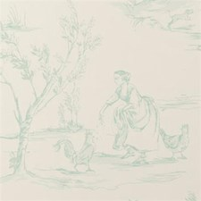 Duckegg Animal Wallcovering by Clarke & Clarke