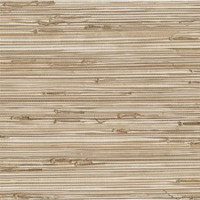 Beige/White Texture Wallcovering by Kravet Wallpaper