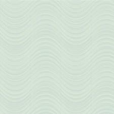 Light Blue/Blue/Metallic Modern Wallcovering by Kravet Wallpaper