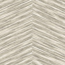 White/Beige/Grey Herringbone Wallcovering by Kravet Wallpaper