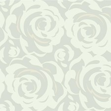 Beige/White Modern Wallcovering by Kravet Wallpaper