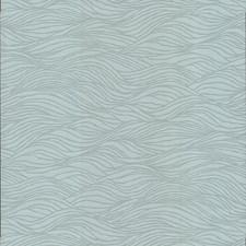 Blue/Spa Texture Wallcovering by Kravet Wallpaper