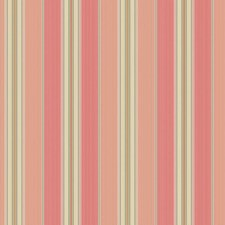 Peach/Coral/Gold Stripes Wallcovering by York