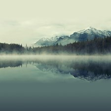 WALS0240 Cloudy Peaks Wall Mural by Brewster