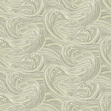 Taupe/Beige/Cream Raised Prints Wallcovering by York