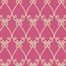 Bright Pink/Beige Trellis Wallcovering by York