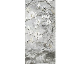 Silver Gold Wallcovering by Scalamandre Wallpaper