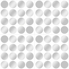 WPD1593 Silver Confetti Dot Decals by Brewster