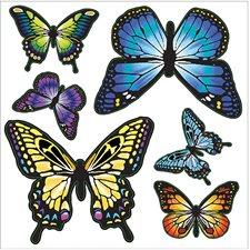 WPD99961 Butterflies Minipops Wall Art Kit by Brewster