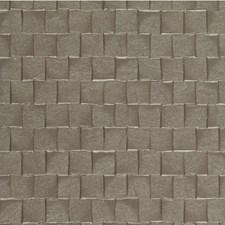 Mocha Geometric Wallcovering by Winfield Thybony