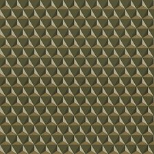 Dark Green Wallcovering by Scalamandre Wallpaper