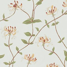 White/Red/Green Wallcovering by Scalamandre Wallpaper