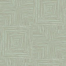 Pale Green/Taupe Bohemian Wallcovering by York