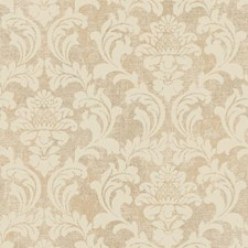 Gold/Cream Traditional Wallcovering by York